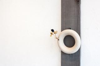 -kakeru- 白釉環型
